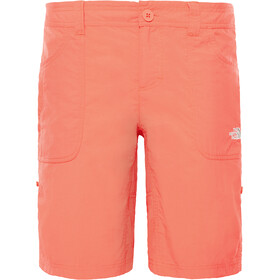 The North Face Horizon Sunnyside Pantalones cortos Mujer, juicy red